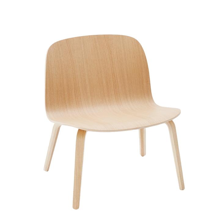 Visu Lounge Chair from Muuto in Oak