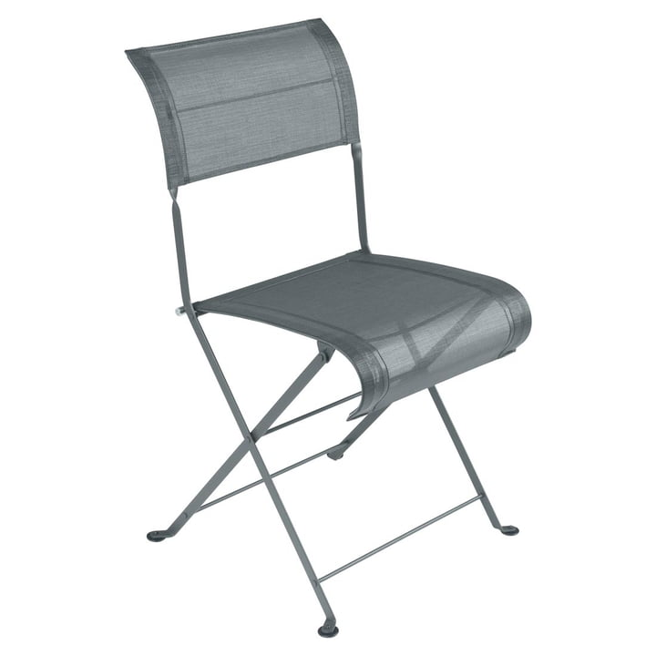 Dune Chair by Fermob in Stormy Grey