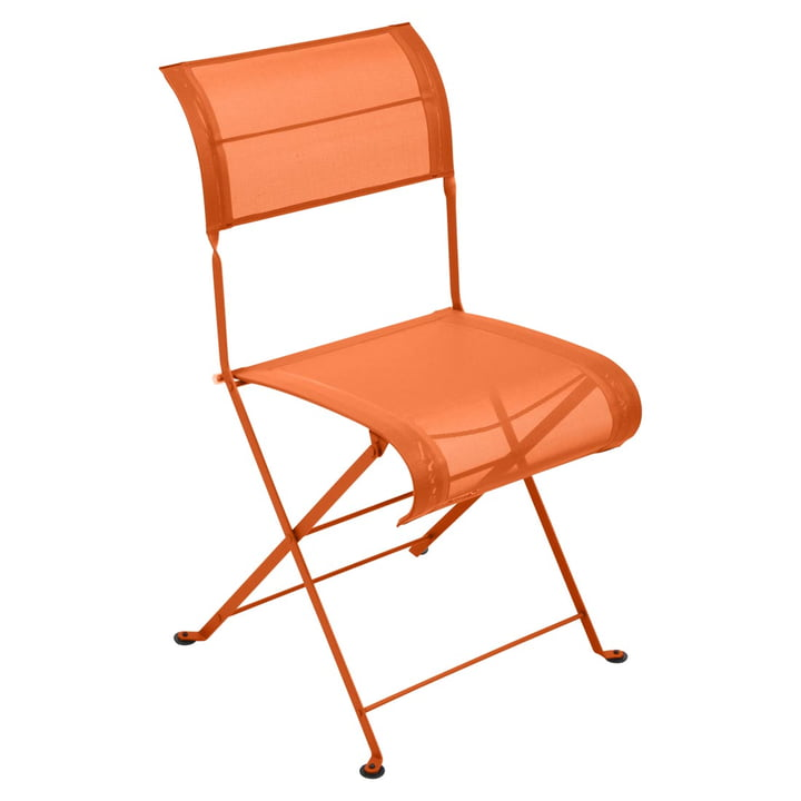 Dune Folding Chair by Fermob in Carrot