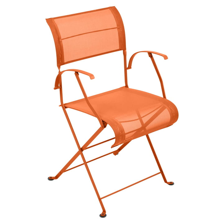 Dune Folding Armchair by Fermob in Carrot