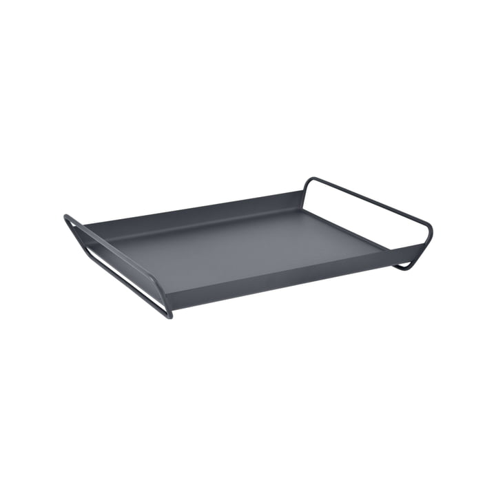 Alto Tray from Fermob in anthracite