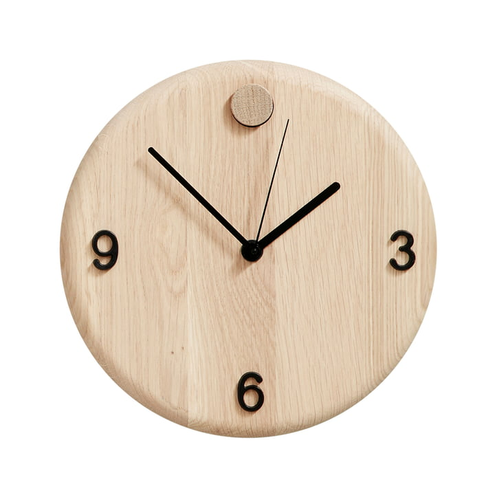 Wood Time clock by Andersen Furniture