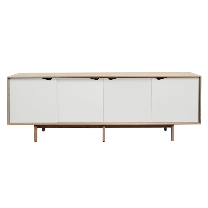 S1 Sideboard by Andersen Furniture in soaped oak / doors white