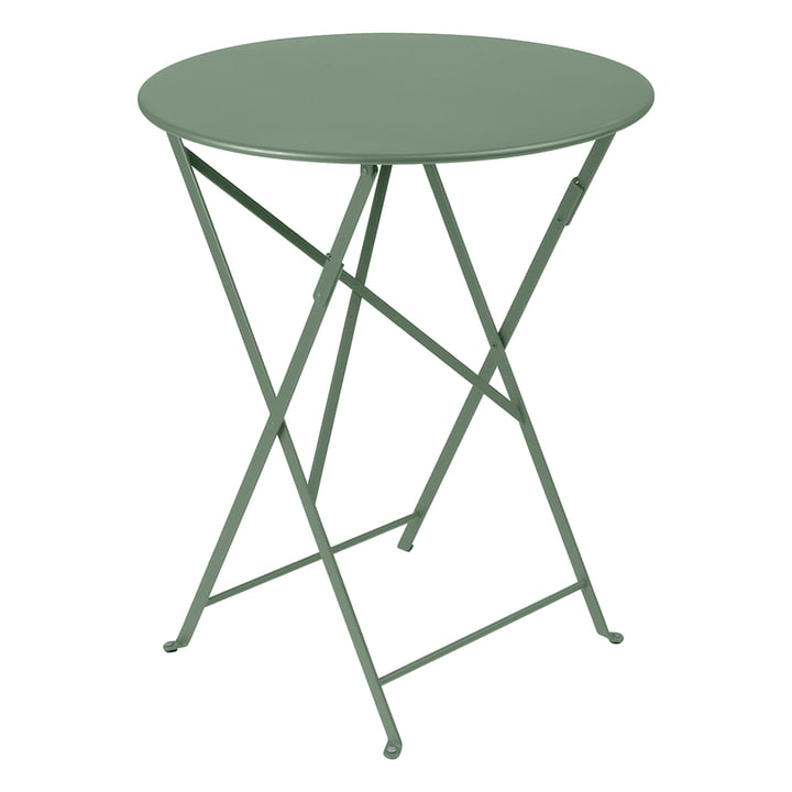 Bistro Folding table Ø 60 cm from Fermob in cactus