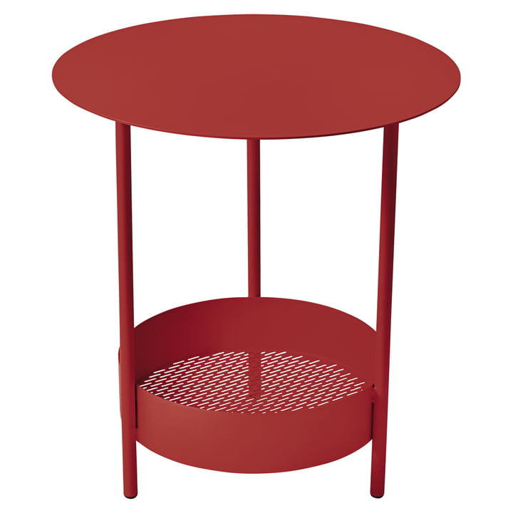 Fermob - Salsa Side Table, chili
