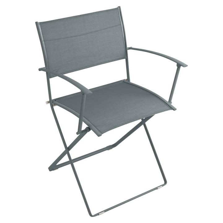 Plein Air Armchair by Fermob in Stormy Grey