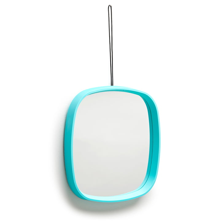 Design Letters - Television Mirror, turquoise