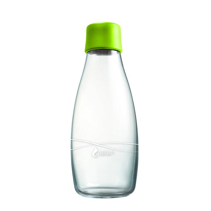 Drinking Bottle with Lid 0.5 l by Retap in Light Green
