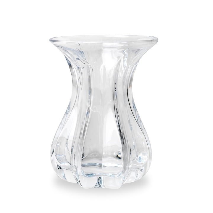 Vase Tulip by Bjørn Wiinblad in Clear Glass
