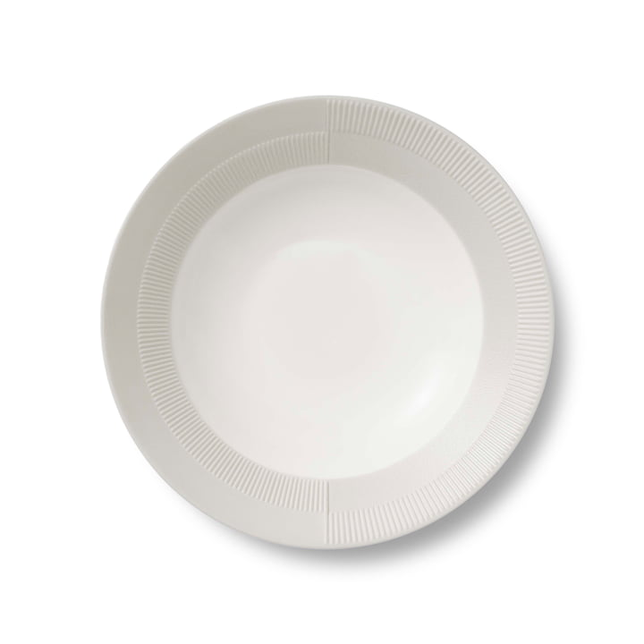 Duet Soup Plate Ø 23 cm by Rosendahl in Grey