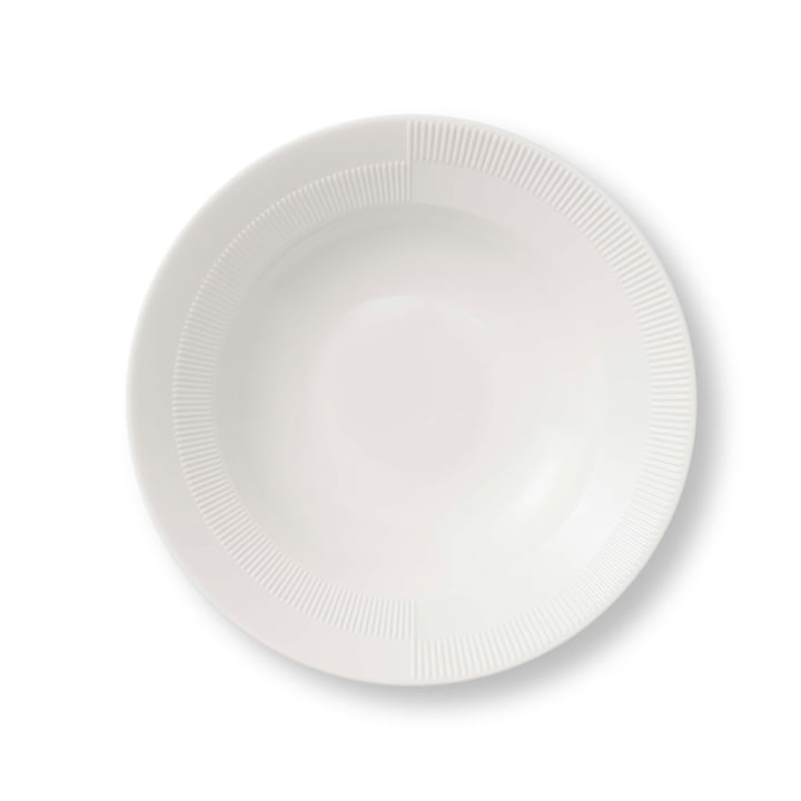 Duet Soup Plate Ø 23 cm by Rosendahl in White