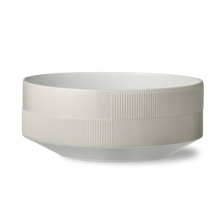 Duet Bowl Ø 22.5 cm by Rosendahl in Grey