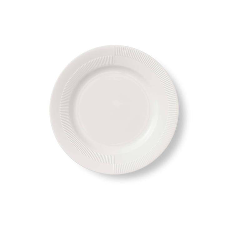 Duet Plate Ø 19 cm by Rosendahl in White