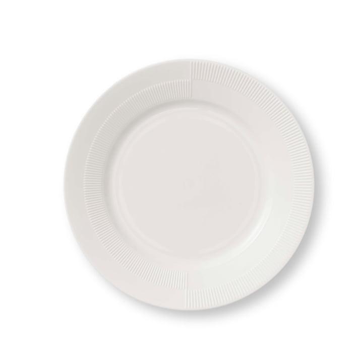Duet Plate Ø 23 cm by Rosendahl in White