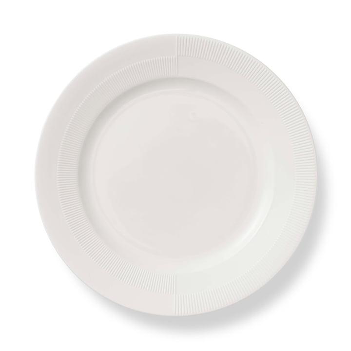 Duet Plate Ø 27 cm by Rosendahl in White