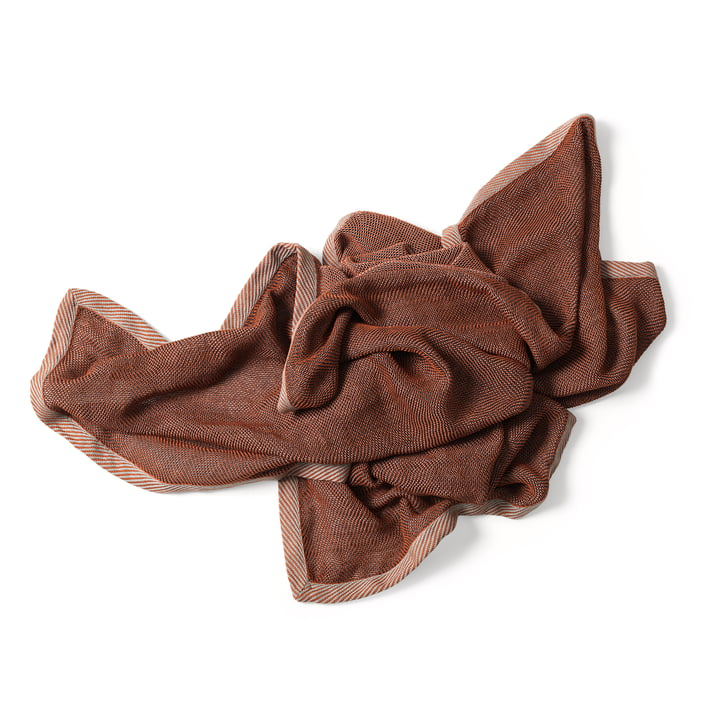 Ripple Throw by Muuto in Brown