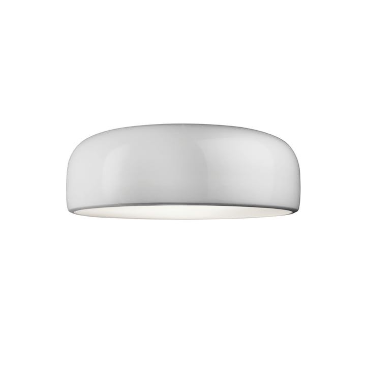 Smithfield C ceiling lamp by Flos in white