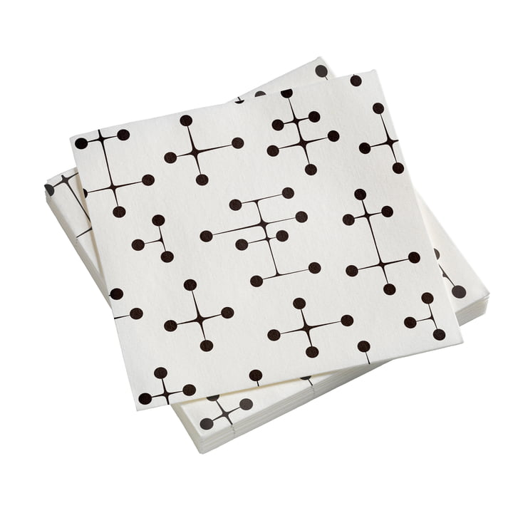 Paper Napkins Large with Dot Pattern light by Vitra