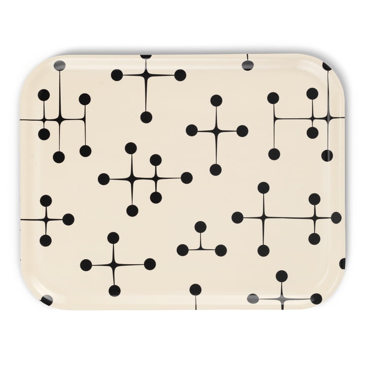 Classic Tray large Dot Pattern light by Vitra