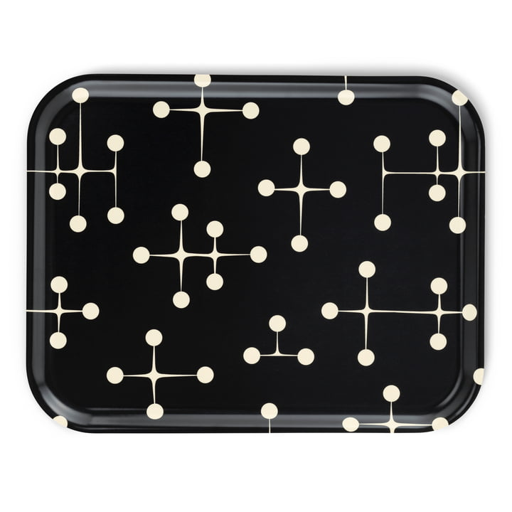 Classic Tray large Dot Pattern dark by Vitra