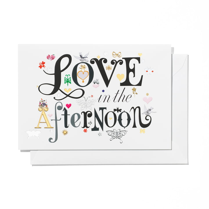 Greeting Card Love in the Afternoon by Vitra