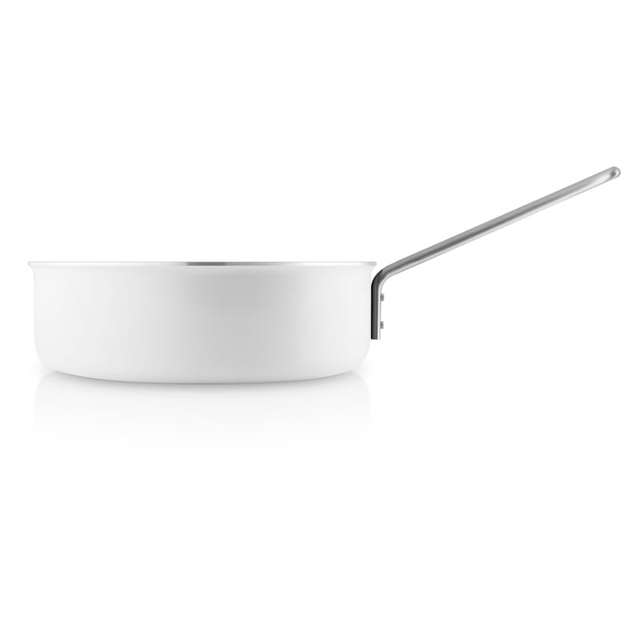 White Line Sauté Pan Ø 24 cm by Eva Trio