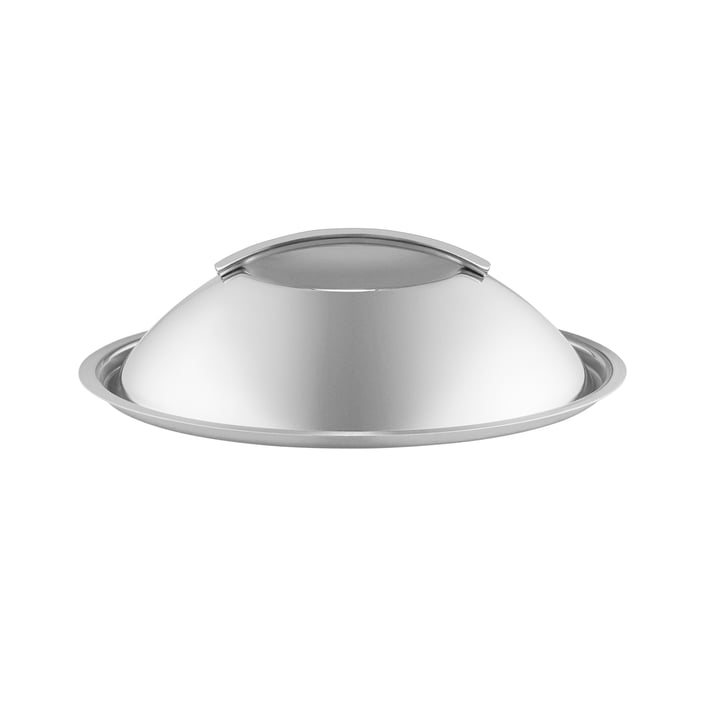Dome Stainless Steel Lid 4 l Ø 24 cm by Eva Trio