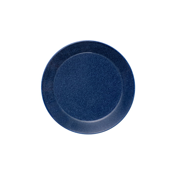 Teema Flat Plate Ø 17 cm by Iittala in Speckled Blue