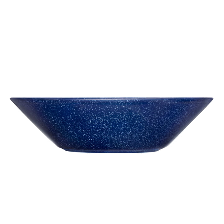 Teema Bowl / Soup Plate Ø 21 cm by Iittala in Speckled Blue