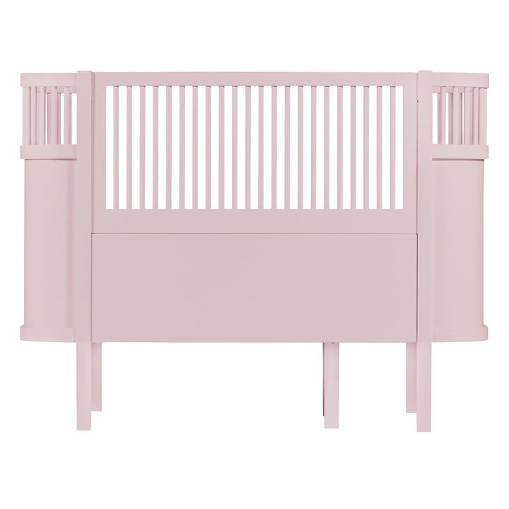 The Sebra Bed Baby & Junior in Dusky Pink
