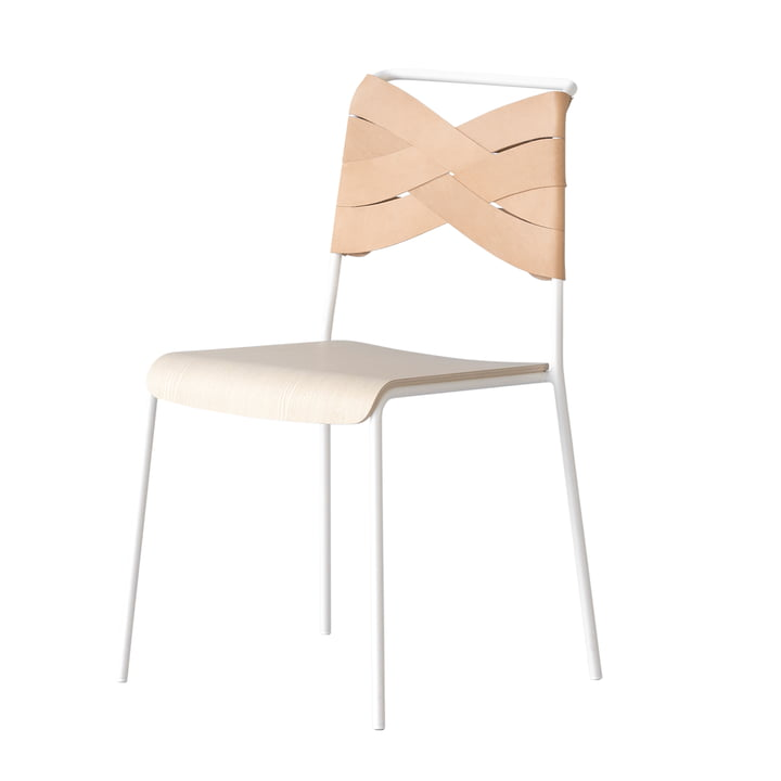 Torso Chair by Design House Stockholm in ash / natural