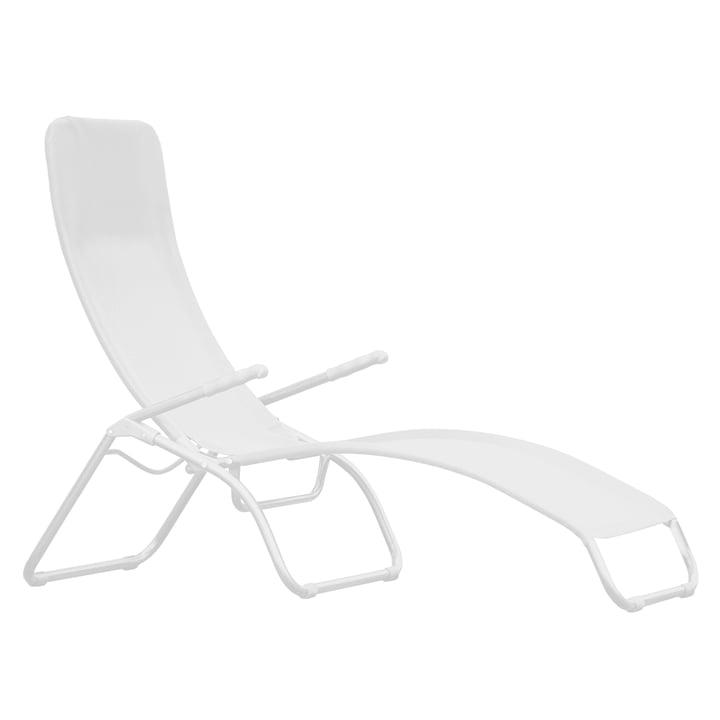 Fiam - Deck Chair Samba, white