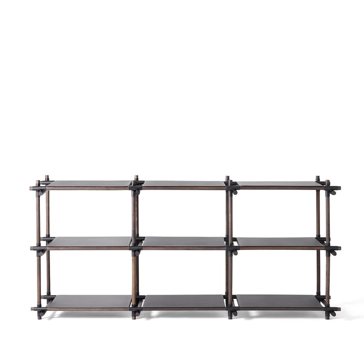 Menu - Stick System, black / dark ash, 3 x 3