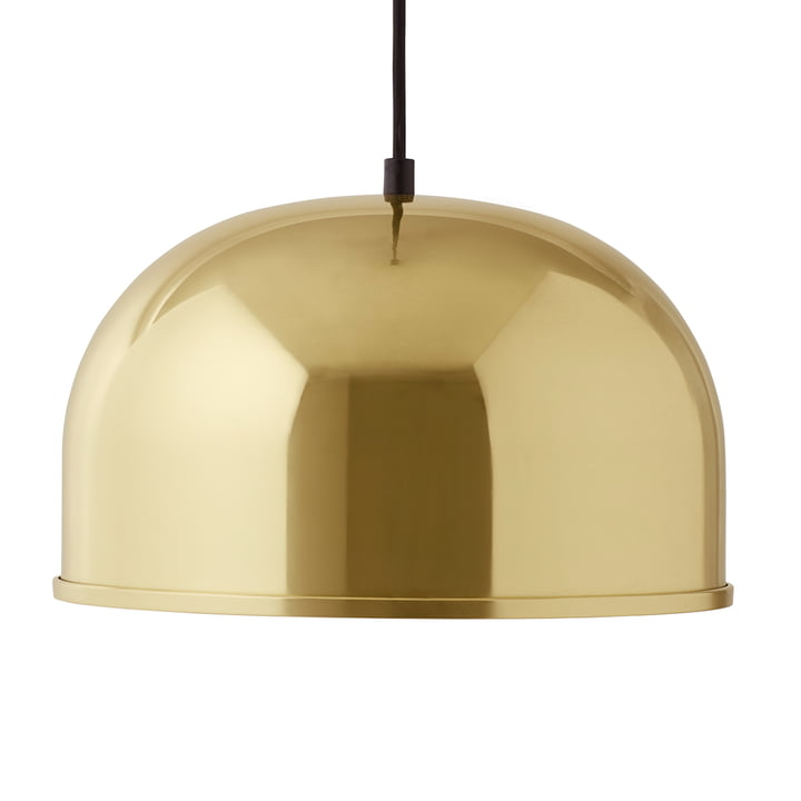 GM 30 pendant lamp by Menu in brass
