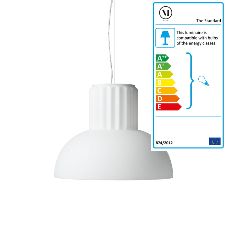 Standard Pendant Lamp by Menu in small