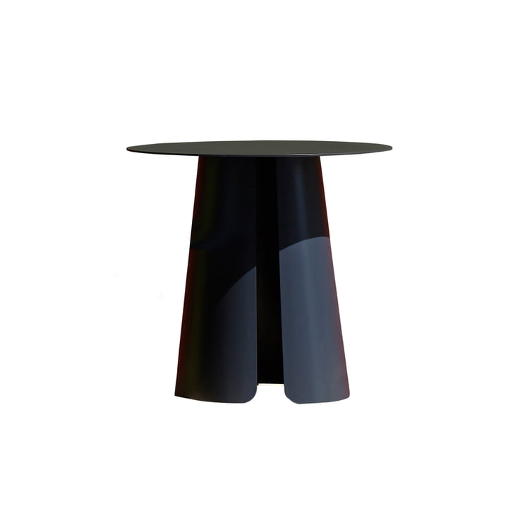 Jan Kurtz - Feel Side Table, Ø 50 cm by Jan Kurtz in anthracite