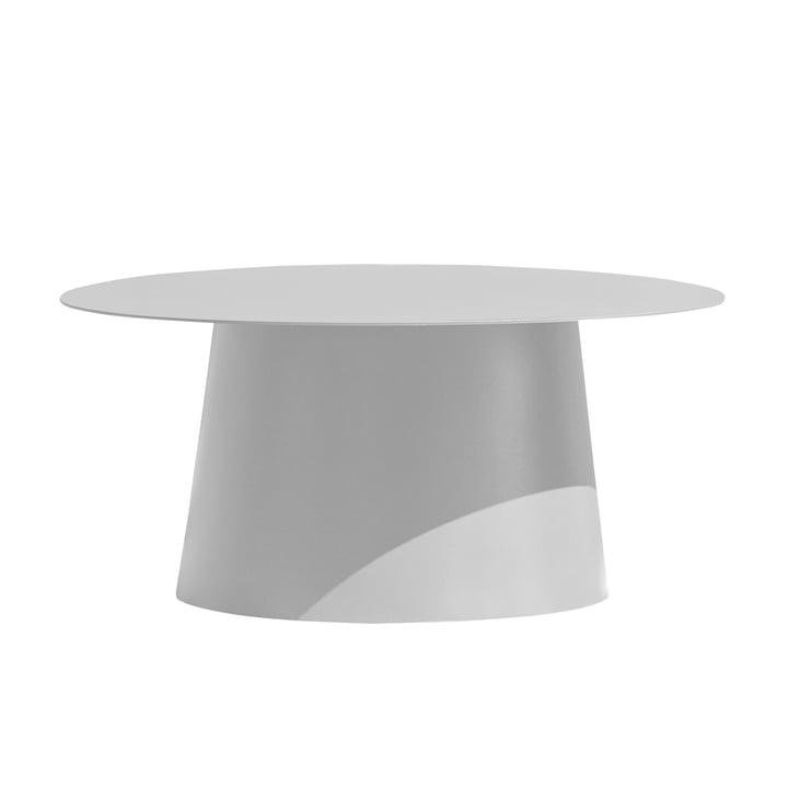 Feel Side Table, Ø 80 cm by Jan Kurtz in white