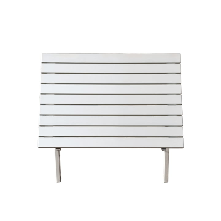Feel Side Table small by Jan Kurtz in white