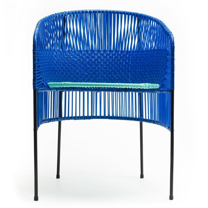 ames - caribe Dining Chair, black / mint / black