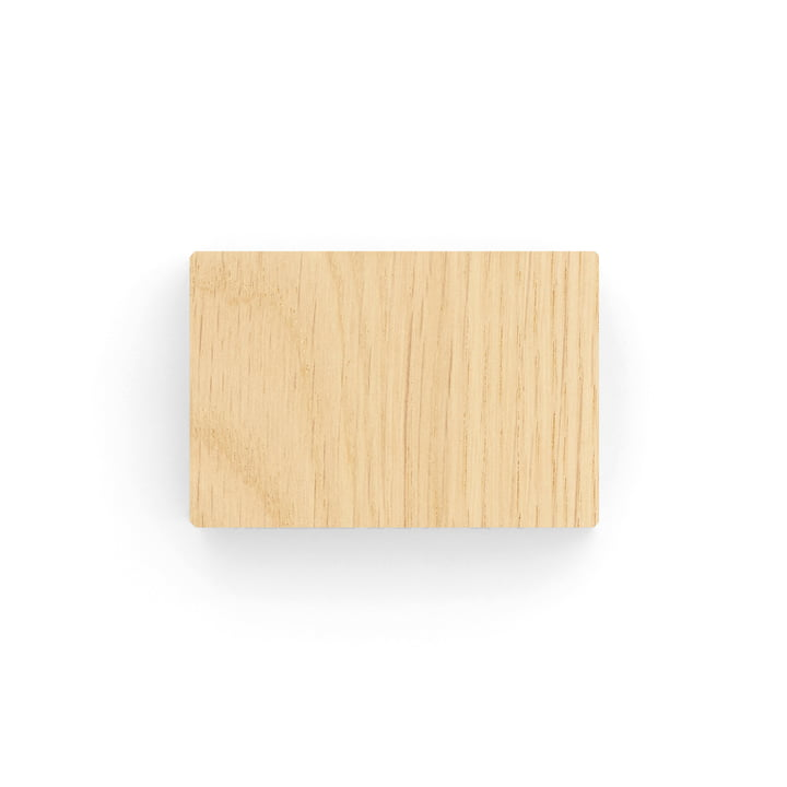 Kvadrat - Ready Made Curtain Support for Hanging Mechanism, oak (100)