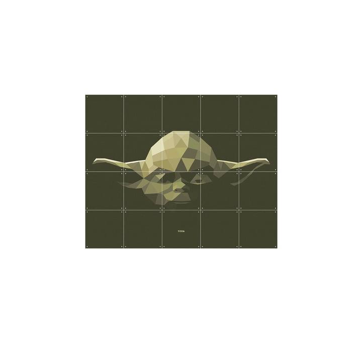 Star Wars Icon: Yoda by IXXI in 100 x 80 cm