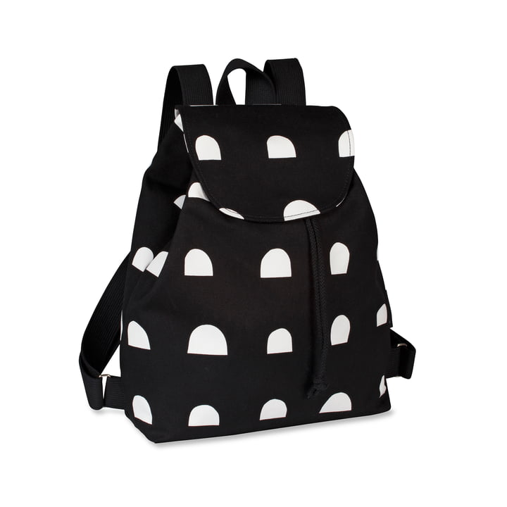 Erika Italia Backpack by Marimekko in Black / White