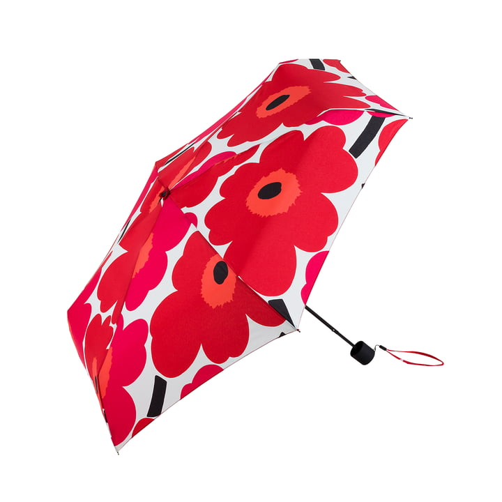 Marimekko - Pieni Unikko Mini Umbrella in Red