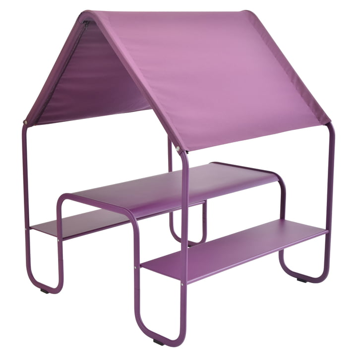 Fermob - Children's Picnic Hut by Fermob in aubergine