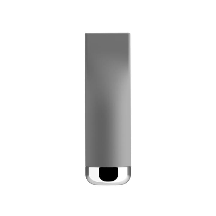 Pizzico Salt Caster by A di Alessi in grey