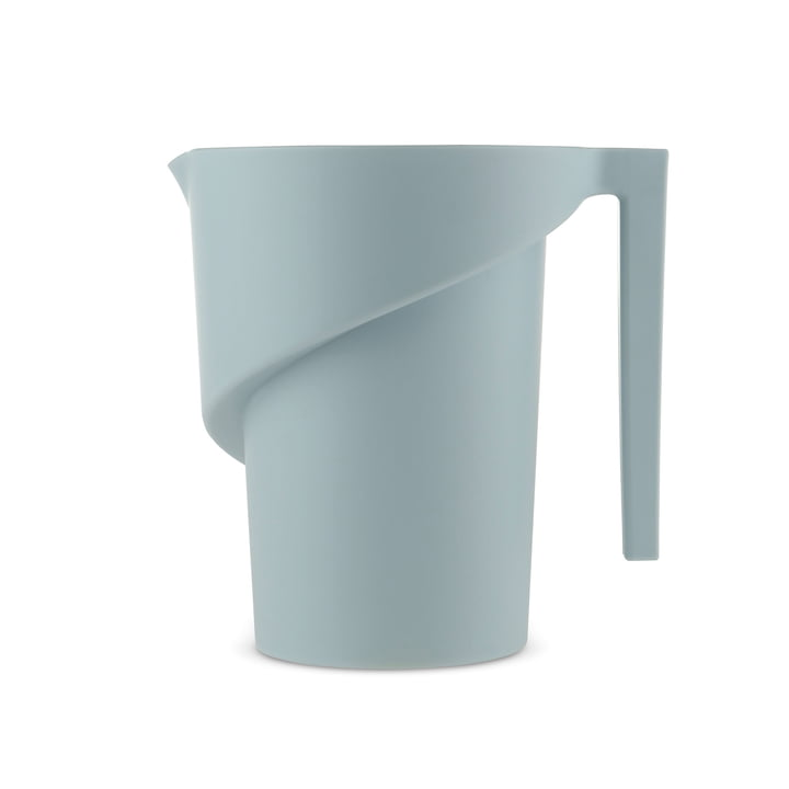 Twisted Measuring Cup by A di Alessi in light blue: