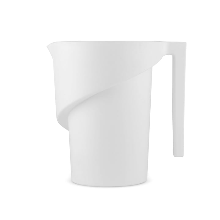 Twisted Measuring Cup by A di Alessi in white: