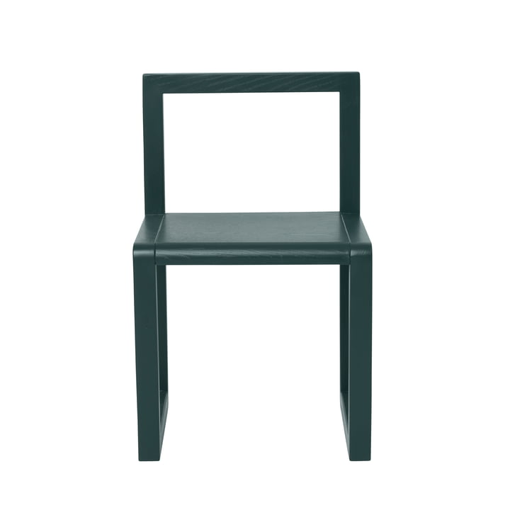 Buy Little Architect Chair by ferm Living in Dark Green