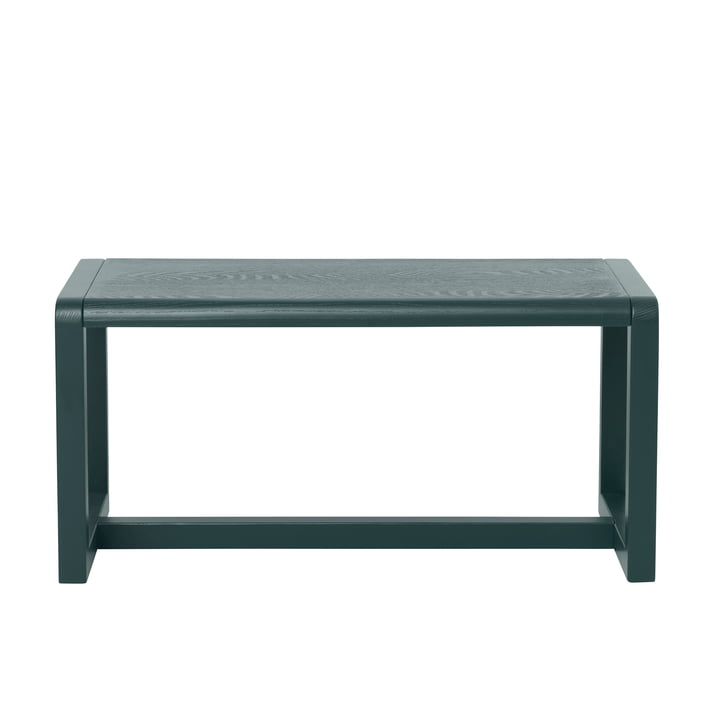 Little Architect Bench by ferm Living in Dark Green