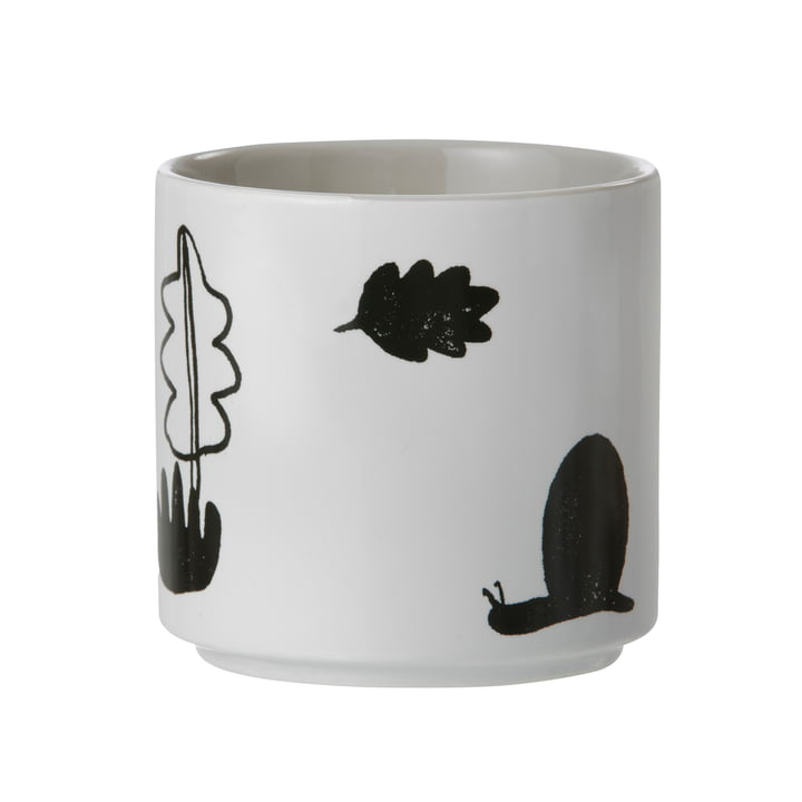 ferm Living - Porcelain Cup Landscape, grey